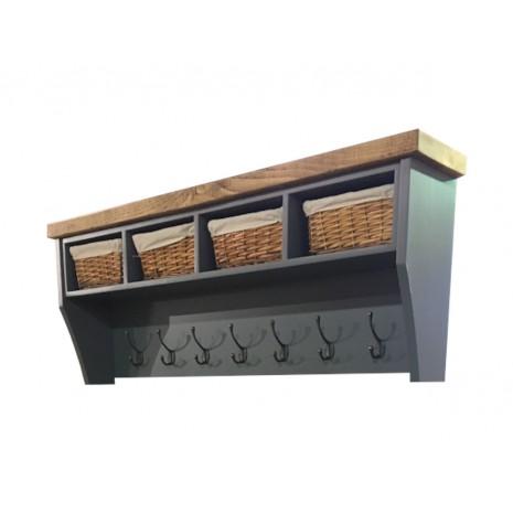 Aspen 4 Basket Coat Rack