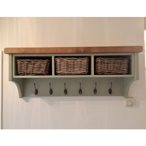 Aspen 3 Basket Coat Rack