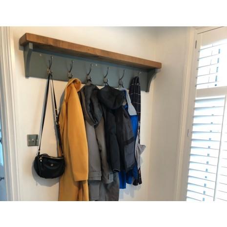 Aspen Coat Rack with Shelf