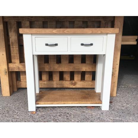 Aspen Console Table White