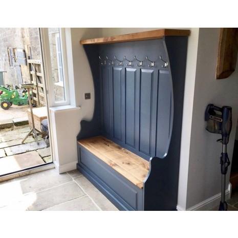 Aspen Monks Bench 142cm Stiffkey Blue