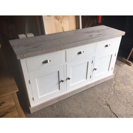 Aspen Greywash Large Sideboard