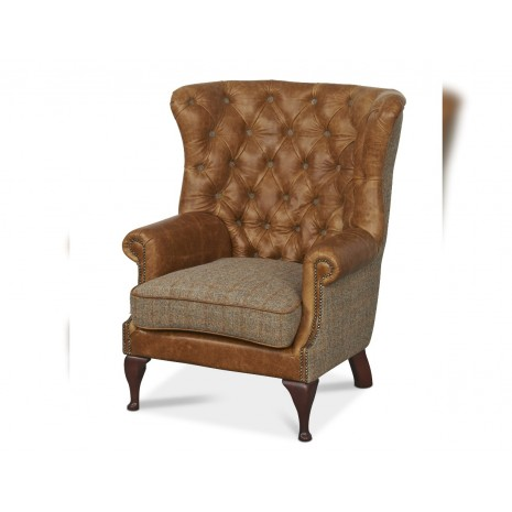 Wrap Buttoned Chair