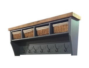 Aspen 4 Basket Coat Rack