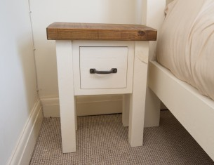 Alpine One-Drawer Bedside
