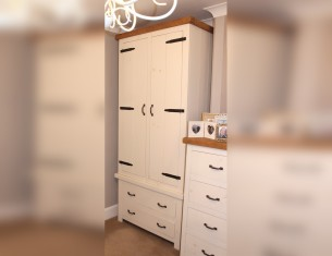 Alpine Double Gents Wardrobe