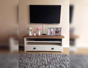 Grey Alpine TV Unit