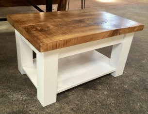 Alpine Coffee Table with shelf