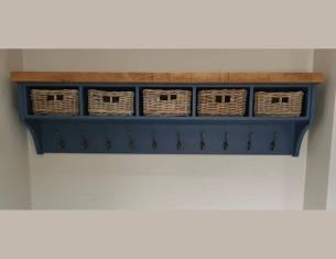 Aspen 5 Basket Coat Rack