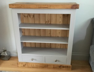 Aspen Small Bookcase with Drawers