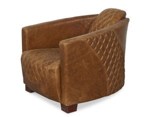 Rocket Diamond Leather Chair