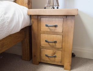 Forest Three-Drawer Bedside