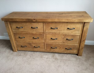 Forest Six-Drawer Sideboard