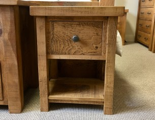 Chunky One-Drawer Bedside