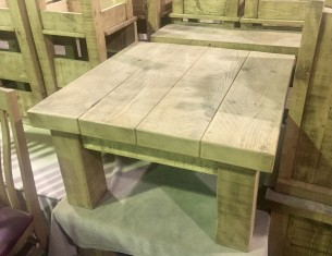 """Clumber 3"""" Top Coffee Table"""