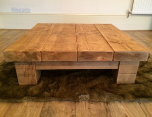 "Clumber 3"" Top Low Coffee Table"