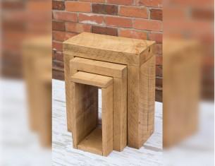 Echo Nest of Three Tables