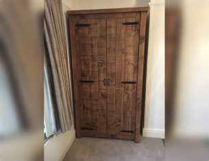 Farmhouse Double Wardrobe