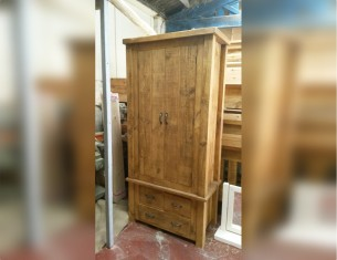 Forest Double Gents Wardrobe