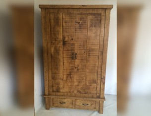Forest Double Wardrobe with Drawers