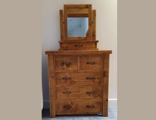 Forest Two-Over-Three Chest of Drawers