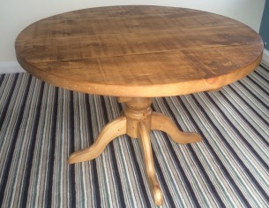 "Round Pedestal 2"" Top Table"