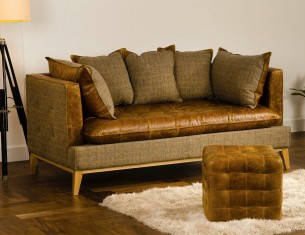Portobello Brown Sofa