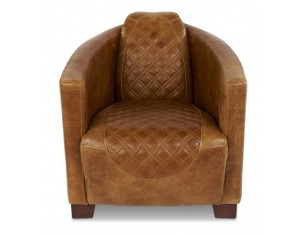 Rocket Diamond Leather Chair