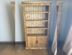 Orchard Panel Large Bookcase with Doors