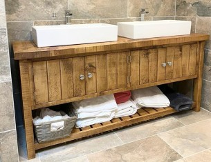 Rufford Double Vanity Unit