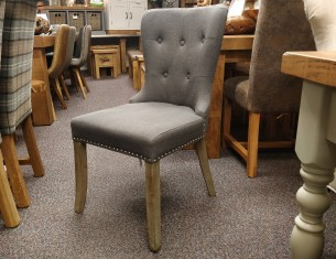 Grey Studback Chair