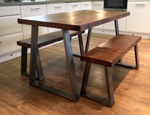 "Blacksmith's 2"" Top Table"