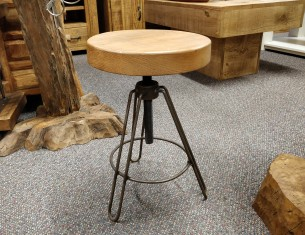 Fletcher's Adjustable Stool