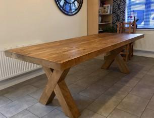 "X Leg 3"" Top Table"