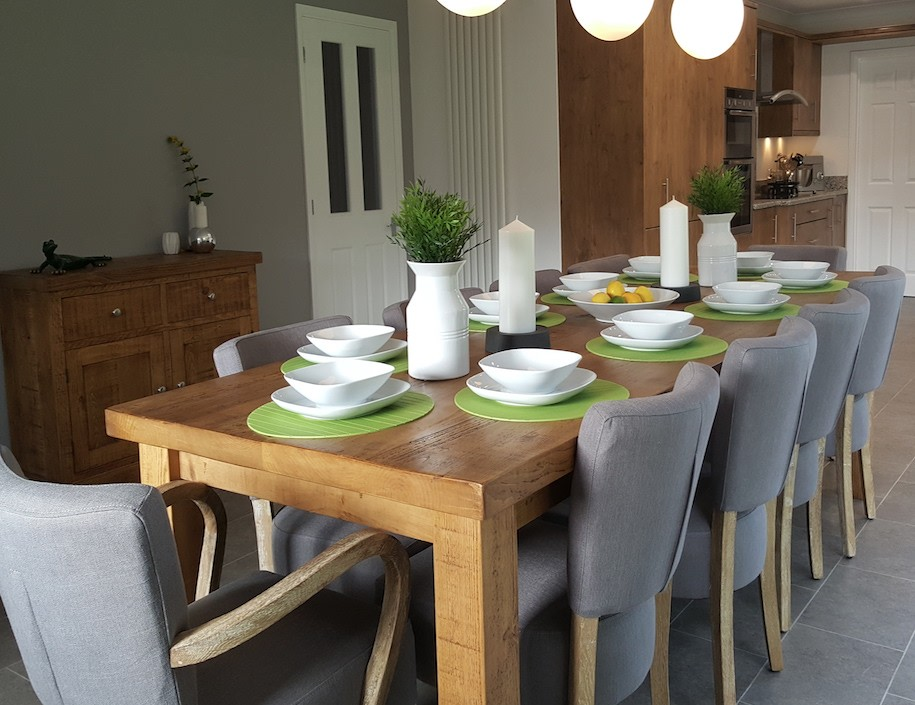 """Sherwood Plank 2"""" Top Table"""