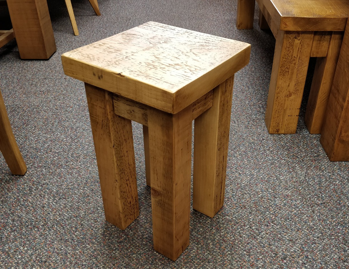 Chunky Small Stool
