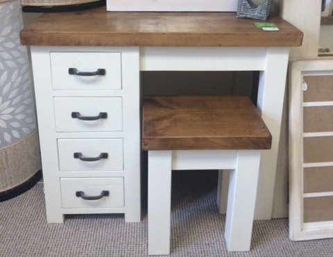 Alpine Single Dressing Table
